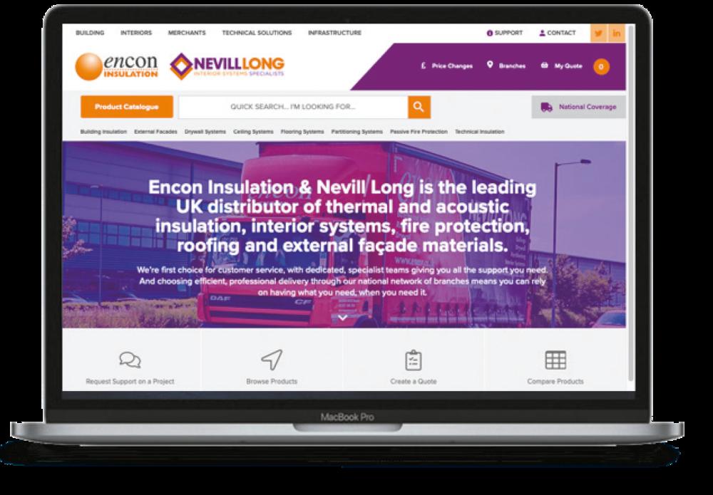 Encon Webpage